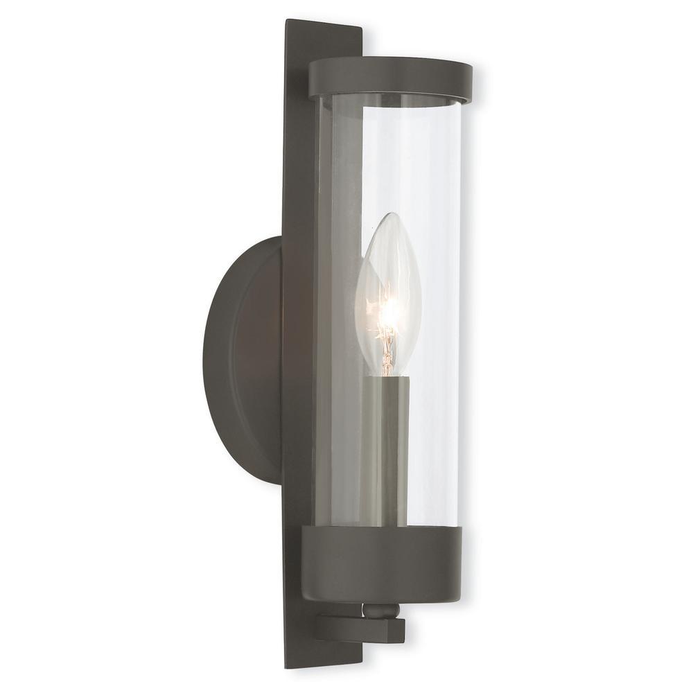 Castleton 1-Light Bronze Sconce