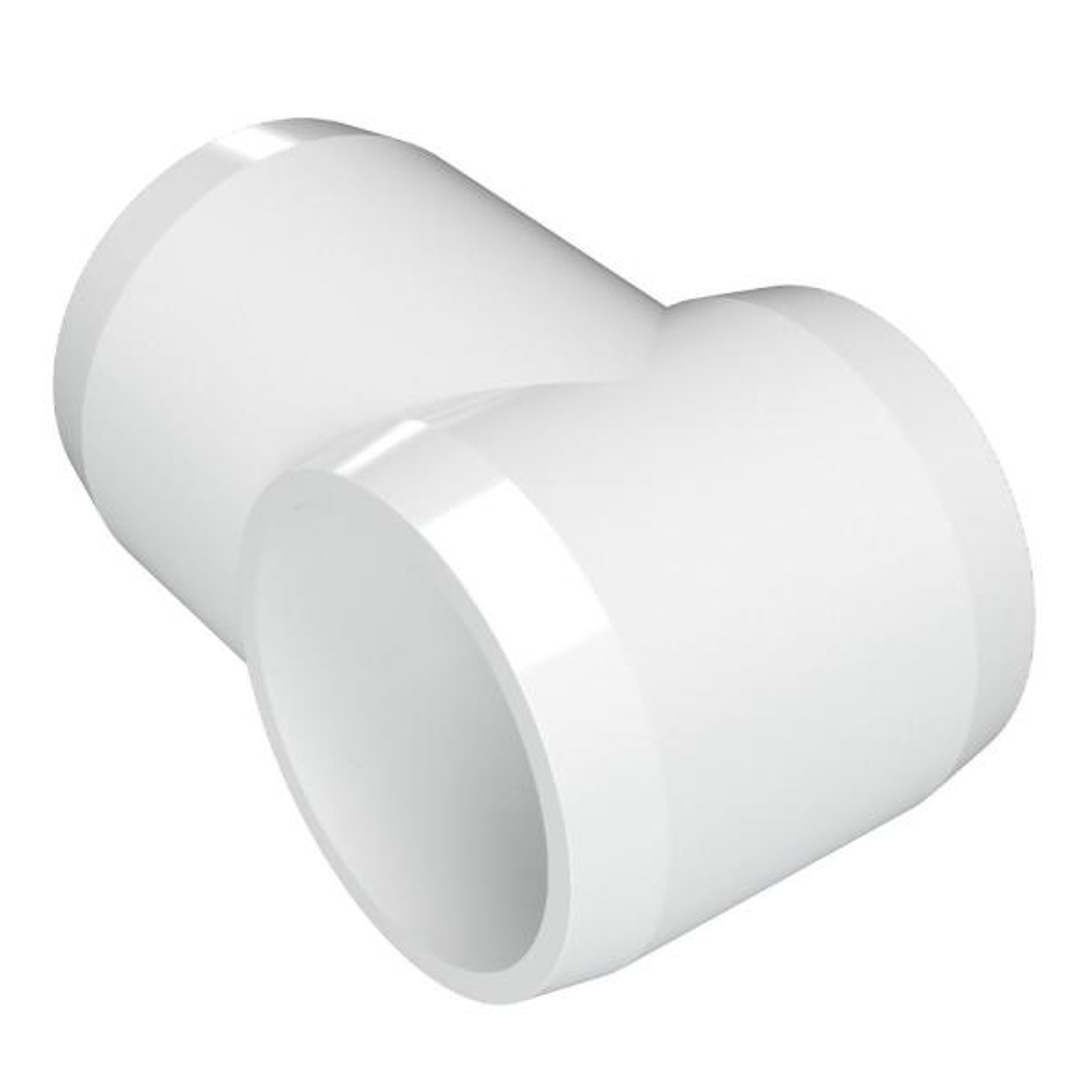 1/2 in. Furniture Grade PVC Slip Sling Tee in White (10-Pack)