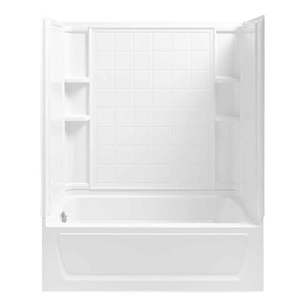 STERLING Ensemble 32 in. x 60 in. x 74 in. Bath and Shower Kit ...