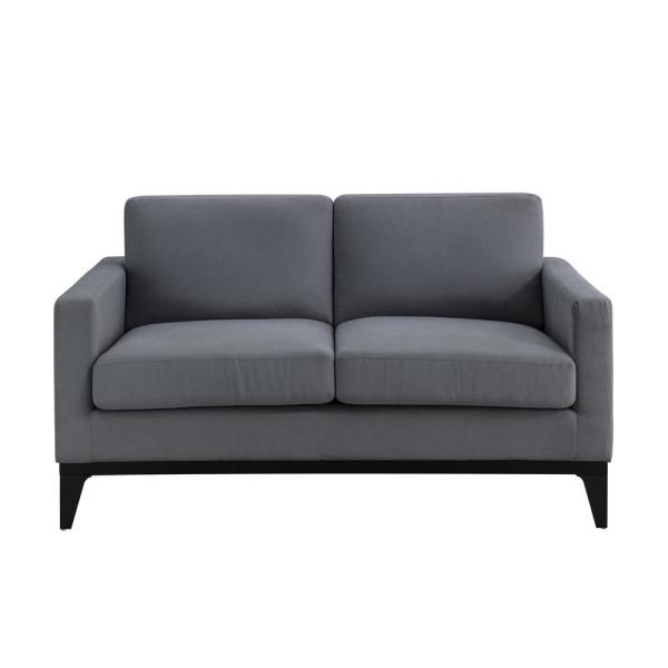 Delray Grey Sofa with Hardwood Frame and Quality Fabric