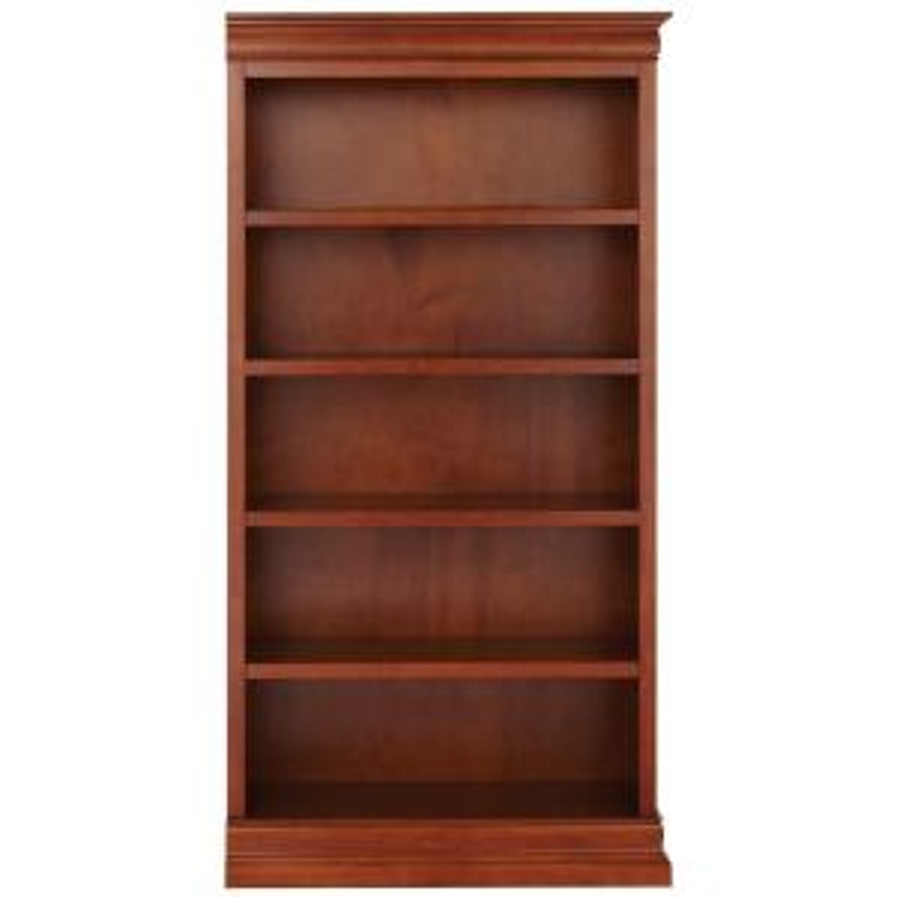Louis Philippe Modular Right Sequoia Open Bookcase