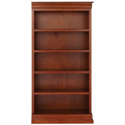 Louis Philippe Modular Right Sequoia Open Bookcase
