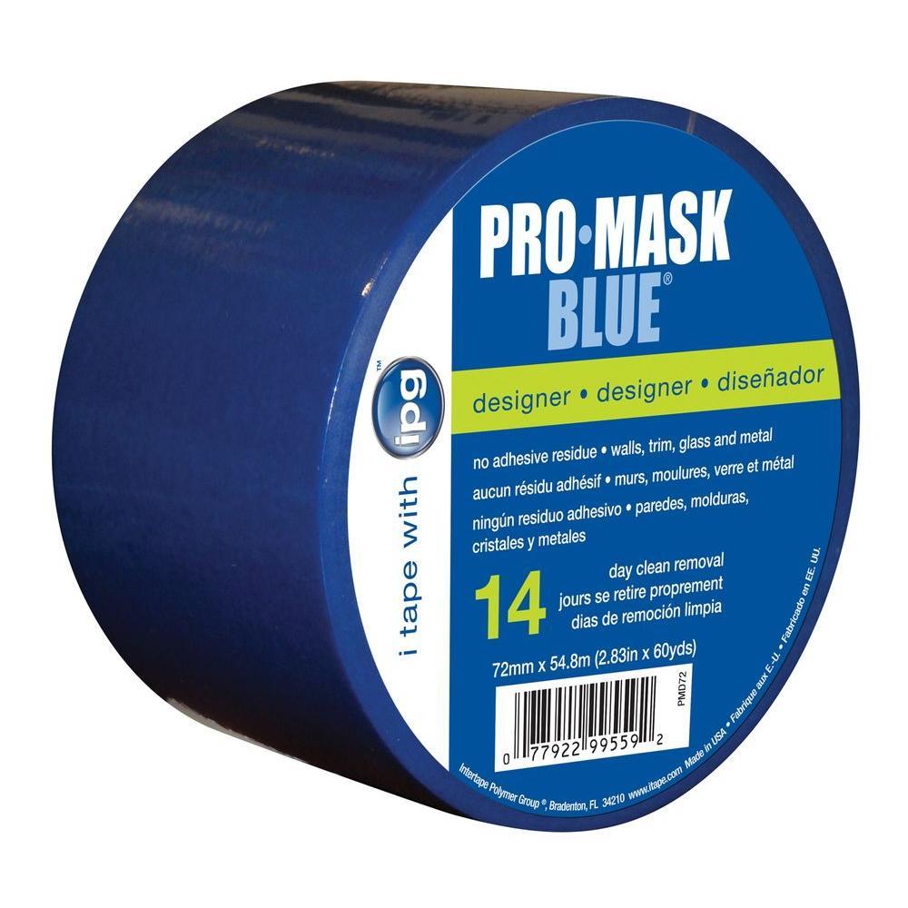 2.83 in. x 60 yds. PT7 ProMask Blue Designer Painter's Tape