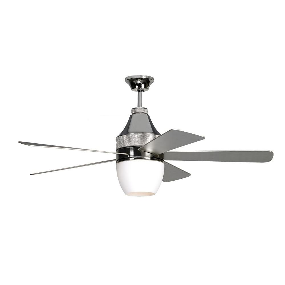 Monte carlo nikki 52 in polished nickel ceiling fan 5nkr52pnd the polished nickel ceiling fan aloadofball Images