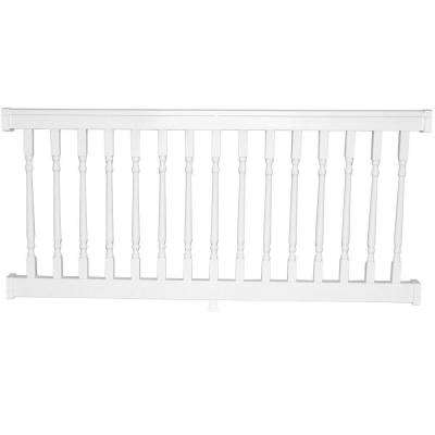 Delray 3.5 ft. H x 8 ft. W Vinyl White Railing Kit