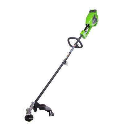GMAX DigiPro Brushless 40-Volt Attachment Capable Electric Cordless String Trimmer- 4 Ah Battery and Charger Included
