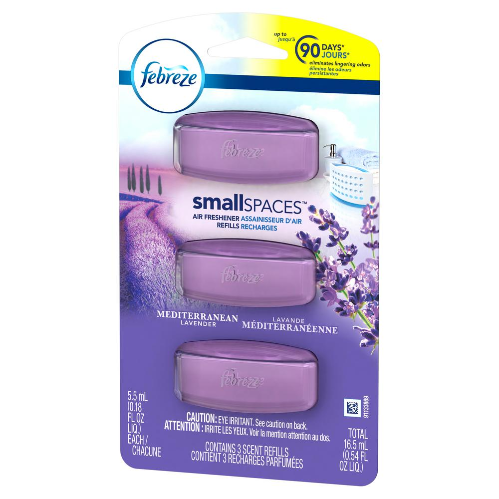0.54 oz. SmallSpaces Mediteranean Lavender Air Freshener Refills (Pack of 3)