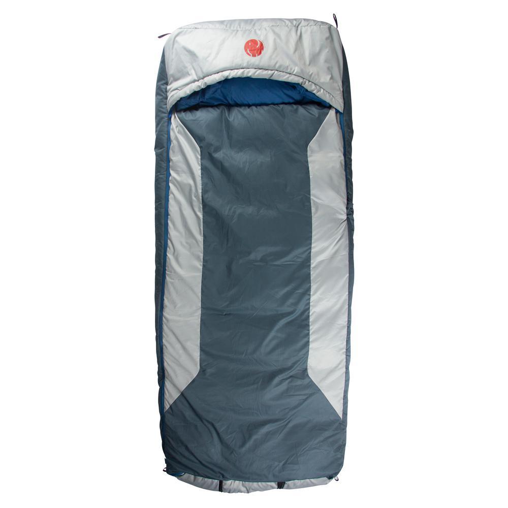 M-3D -10°F/-23.3° Multi-Down Hooded Rectangular Sleeping Bag (Reg)