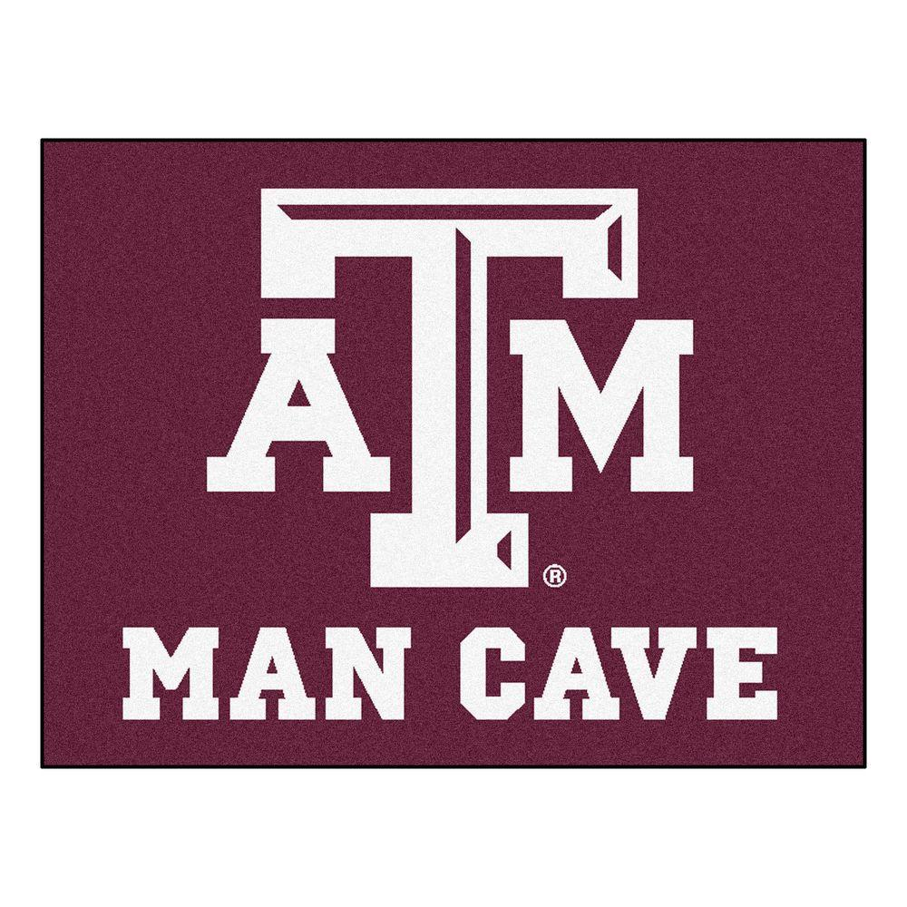 Man Cave Conference : Fanmats texas a m university red man cave ft in