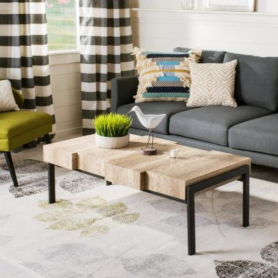 Alexander Canyon Gray/Black Coffee Table