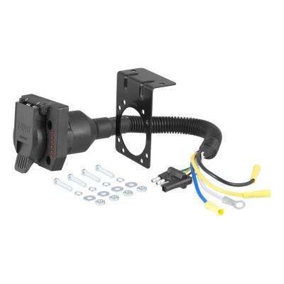 Sensational Trailer Wiring Adapter Connector Hitches Towing Equipment The Wiring 101 Ivorowellnesstrialsorg