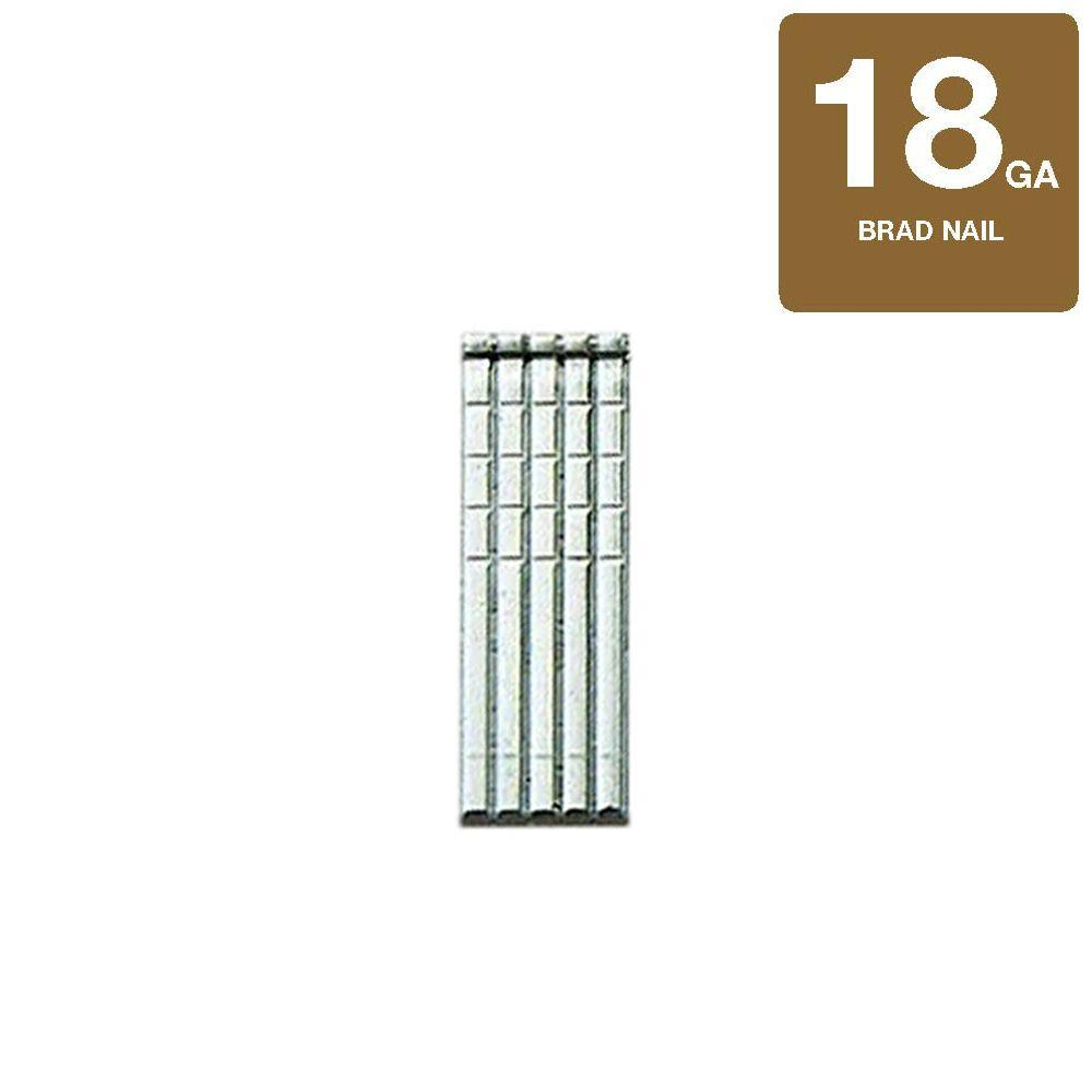 1-1/4 in. x 18-Gauge Straight 316 Stainless Steel Finish Brad (500-Count)