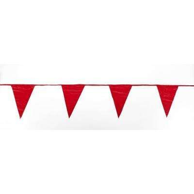 105 ft. OSHA Red Pennants Perimeter Markers (3-Pack)