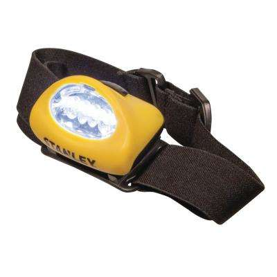 Twin Pack 5 LED Alkaline Headlamp