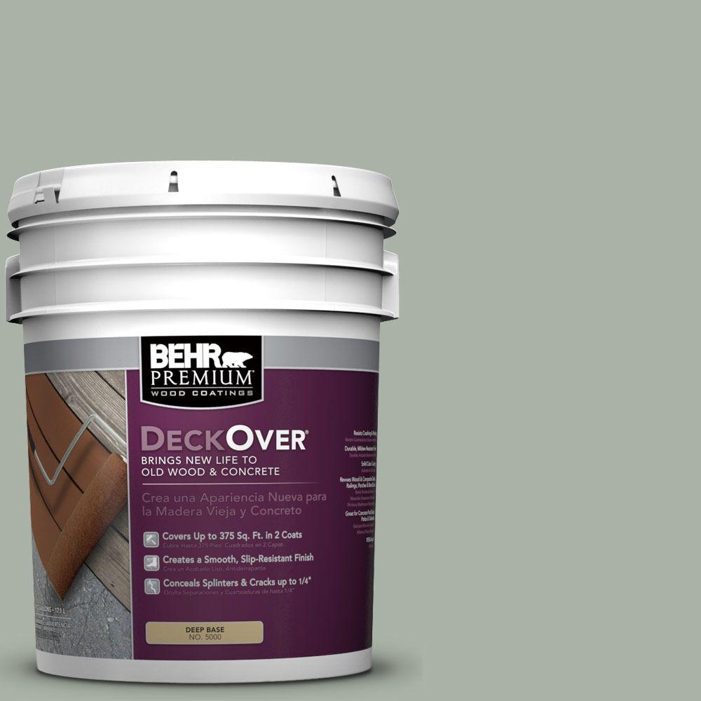 BEHR Premium DeckOver 5 gal. #SC-149 Light Lead Wood and Concrete Coating