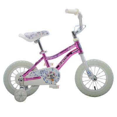 Spritz Pink Ready2Roll 12 in. Kids Bicycle