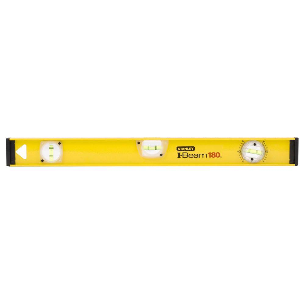 Stanley 24 In I Beam 180 Level 42 324 The Home Depot