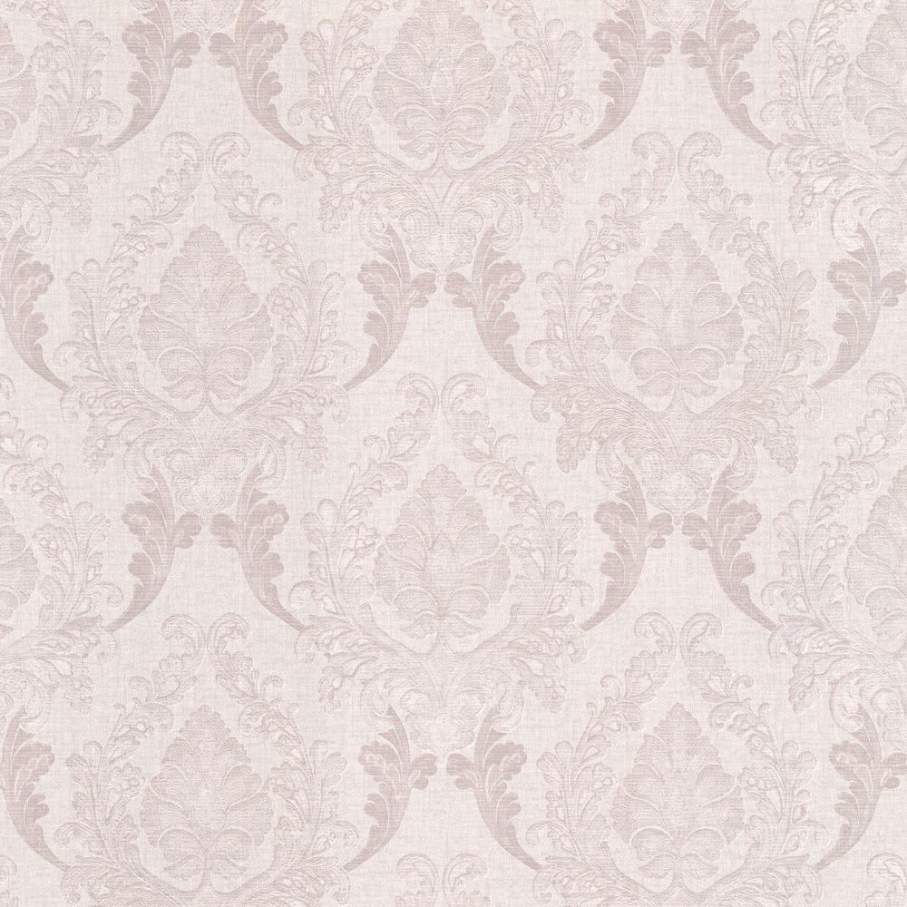Regal Lavender Damask Wallpaper