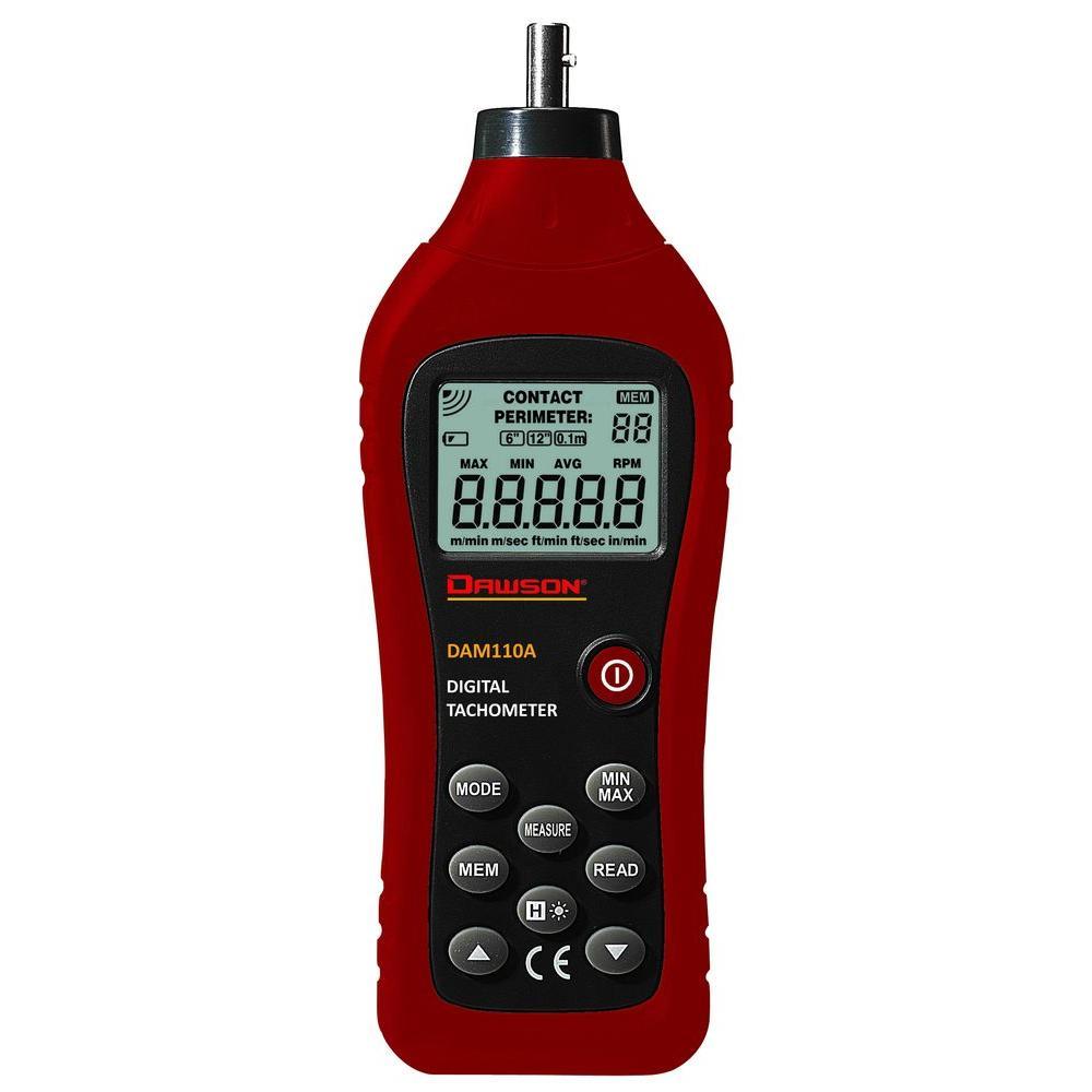 Digital Contact Tachometer