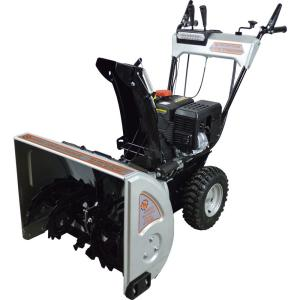 Dirty Hand Tools 24 inch 2-Stage Gas Snow Blower with 212cc Electric Start Engine and Heated Grips by Dirty Hand Tools