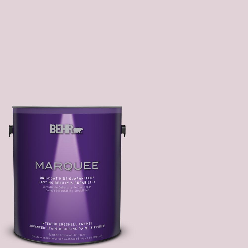 1 gal. #T15-7 Secret Blush Eggshell Enamel Interior Paint