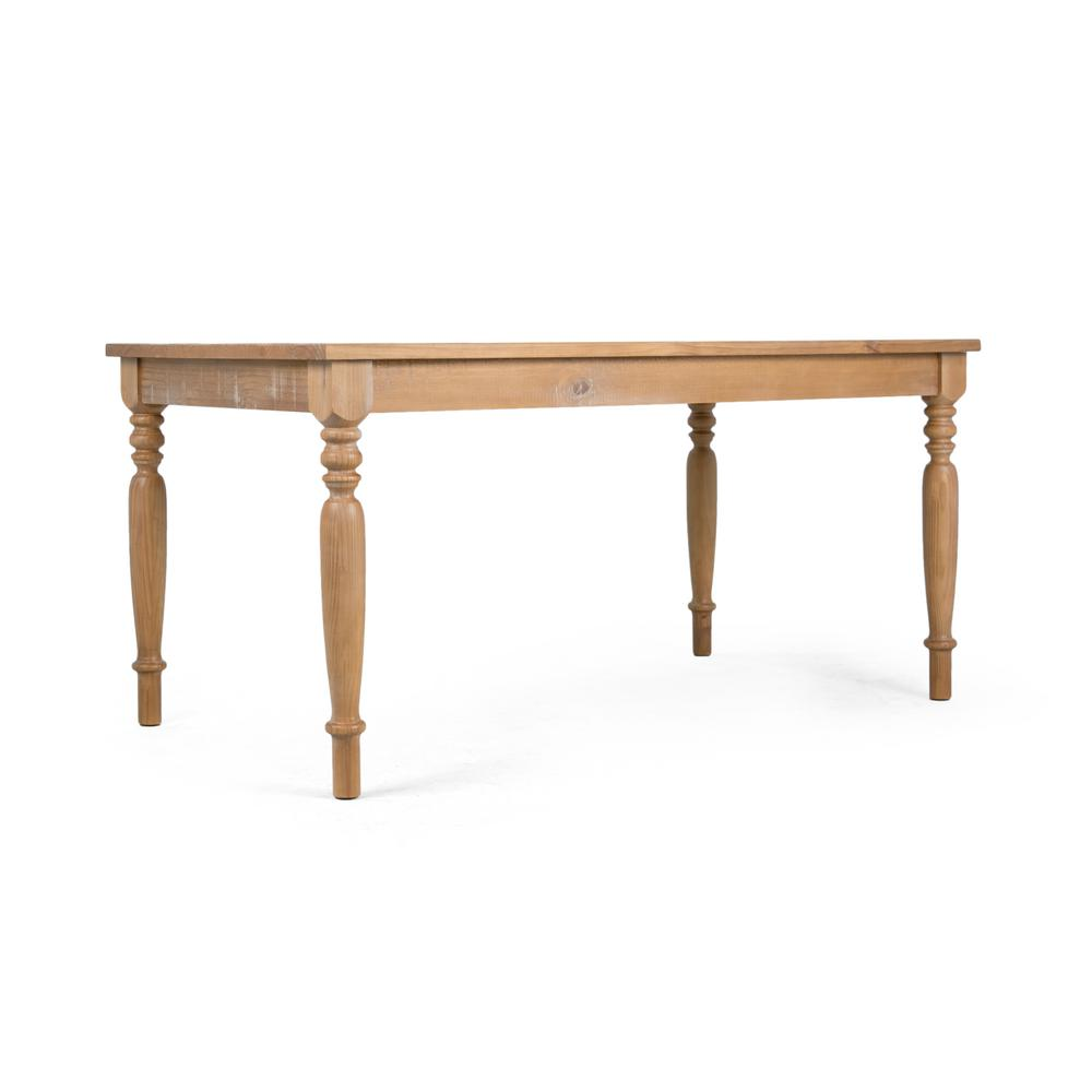Artefama furniture linda distressed oak dining table