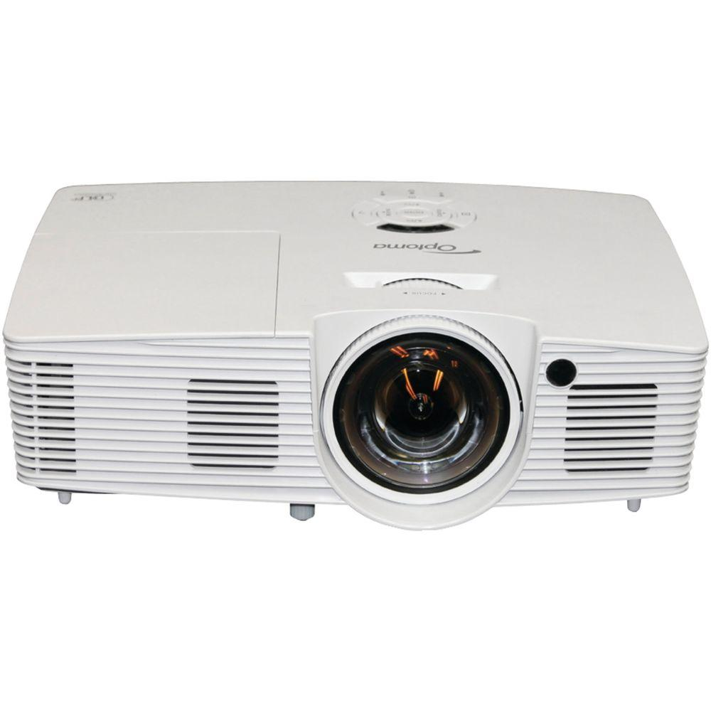 Optoma 1600 x 1200 XGA Full-3D Short-Throw Projector with...