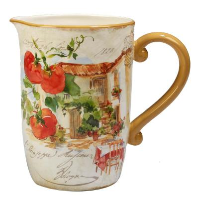 Piazzette 104 oz. Multi-Colored Pitcher