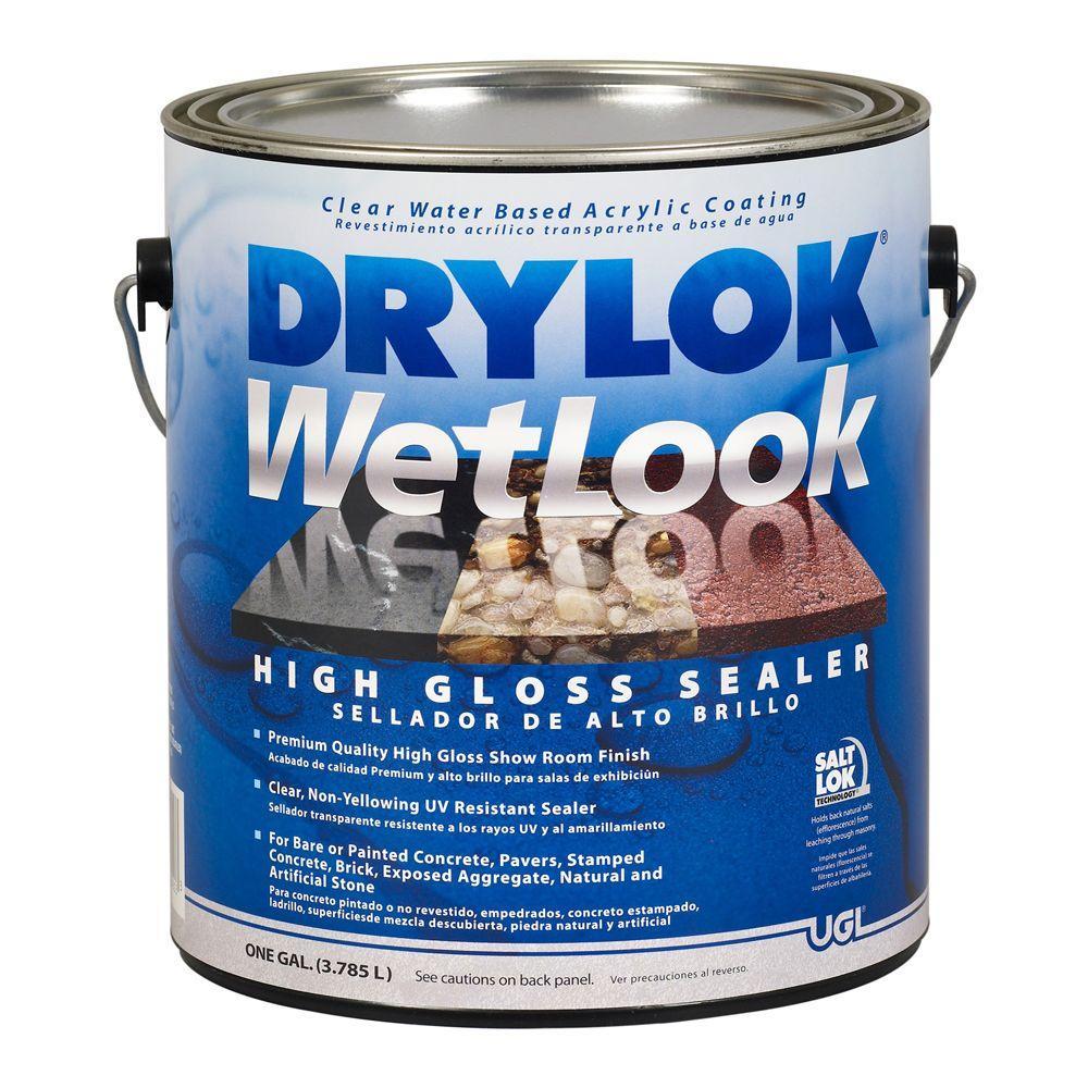 Drylok 1 Gal Wetlook Sealer 209147 The Home Depot
