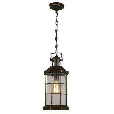 San Mateo Creek Oil Rubbed Bronze 1-Light Hanging Light