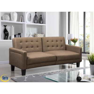 Sebring Sand Serta Multifunctional Sofa, Convertible To Bed