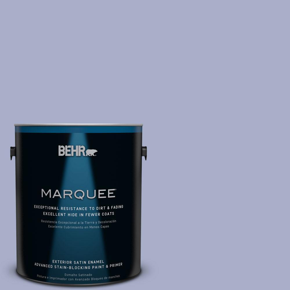 BEHR MARQUEE 1-gal. #S540-4 Vintage Ribbon Satin Enamel Exterior Paint