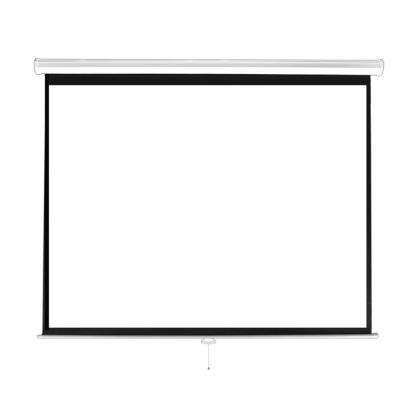 84 in. Universal Pull-Down Manual Projection Screen