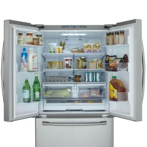 25.5 cu. ft. French Door Refrigerator in Stainless Steel