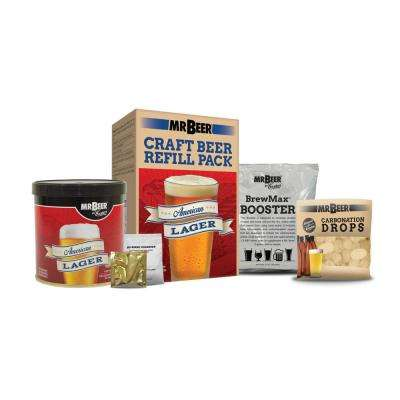 American Lager Refill Beer Brewing Kit