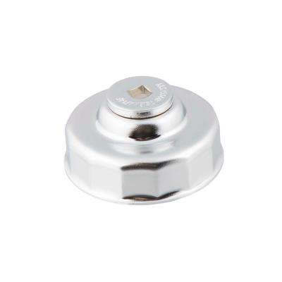 75.6 mm x 14 Flute Oil Filter Cap Wrench in Chrome