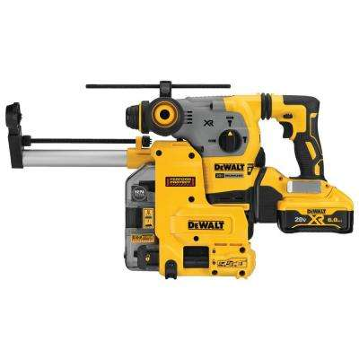 20-Volt MAX Lithium-Ion Brushless Cordless 1-1/8 in. SDS Plus Rotary Hammer with Dust Collection