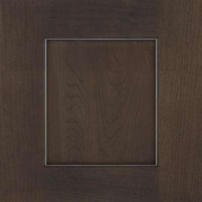 14.5x14.5 in. Cabinet Door Sample in Sloan Cherry Shadow