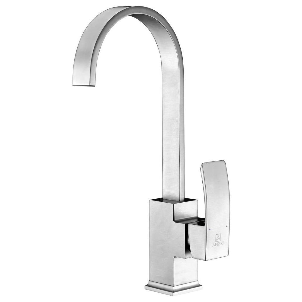 Opus Series Single-Handle Standard Kitchen Faucet in Brushed Nickel