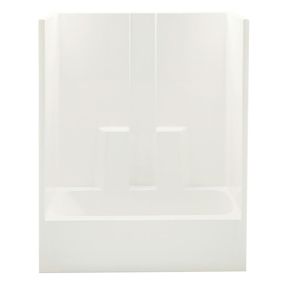 Everyday 60 in. x 30 in. x 74 in. 1-Piece Bath