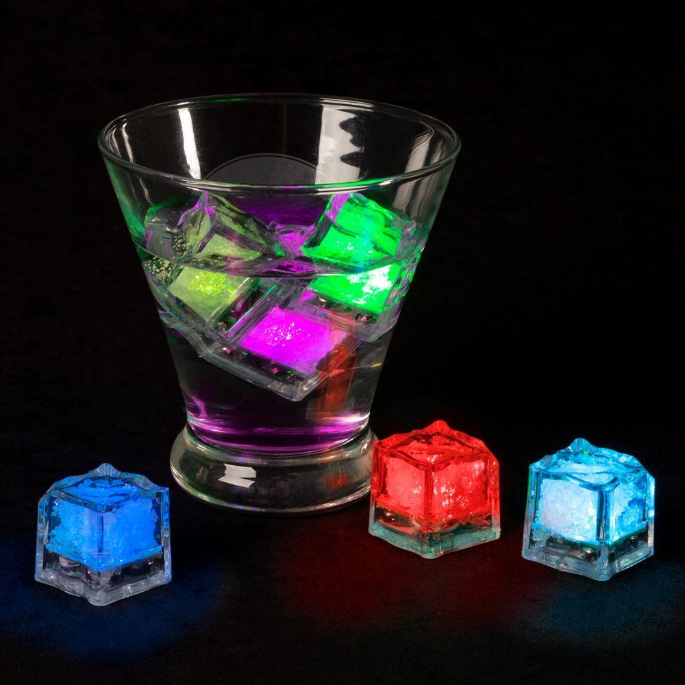 Lavish Home Ice Cube Shaped LED Lights (12 per Pack) HW0200116