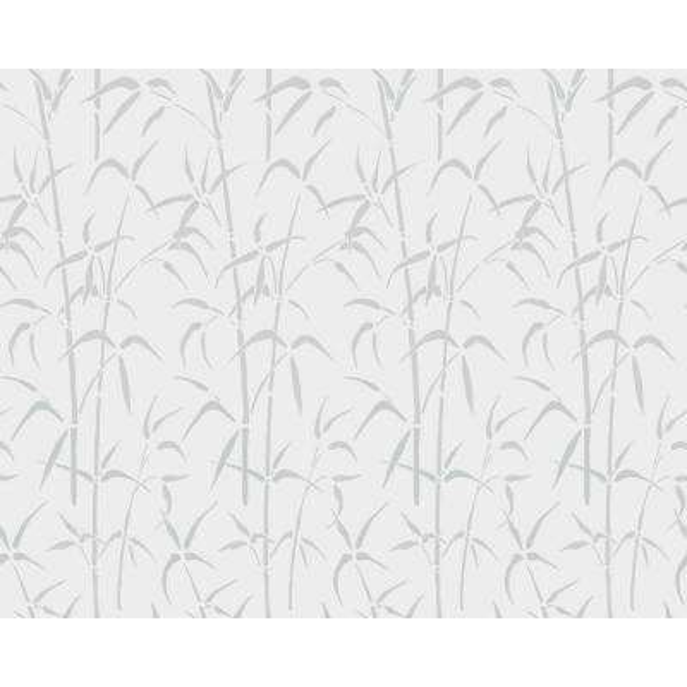 35 in. x 59 in. Bamboo Static Cling Window Film