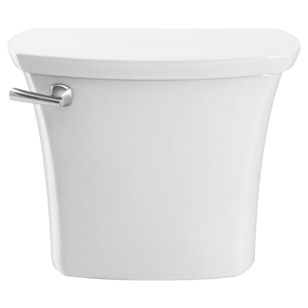 American Standard Edgemere 1.28 GPF Single Flush Toilet Tank Only in White