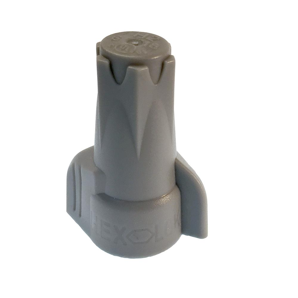 Ideal Model 66, Underground Wire Connector in Gray-Blue (50 per Box ...