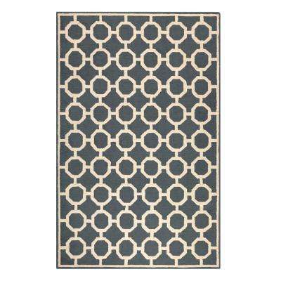 Espana Charcoal 8 ft. x 10 ft. Area Rug