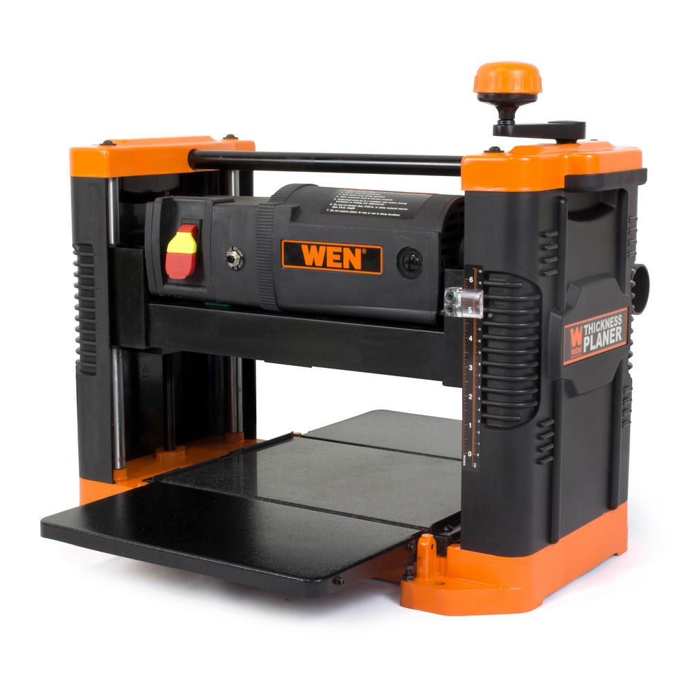 Wen 15 Amp 12 5 In Corded Thickness Planer 6550 The Home Depot