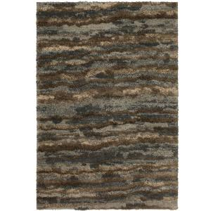 Stria Grey 5 ft. x 7 ft. Area Rug