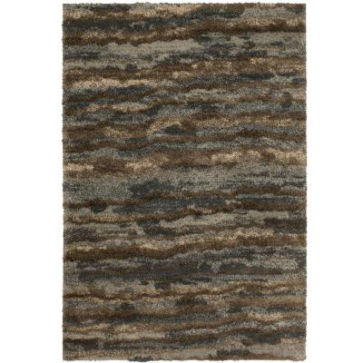 Stria Grey 10 ft. x 12 ft. 11 in. Area Rug