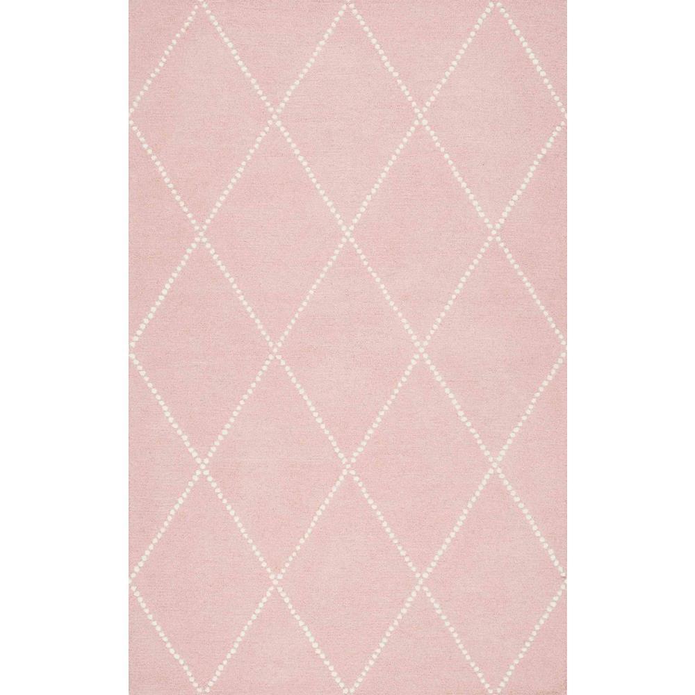 Nuloom Elvia Baby Pink 8 Ft X 10 Area Rug