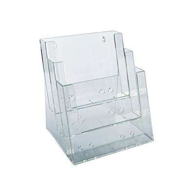 3 Tier Pocket Letter Sized Brochure Holder